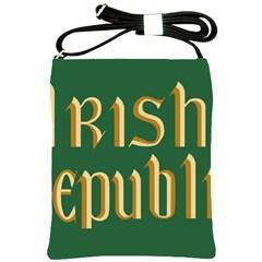 The Irish Republic Flag (1916, 1919 1922) Shoulder Sling Bags by abbeyz71