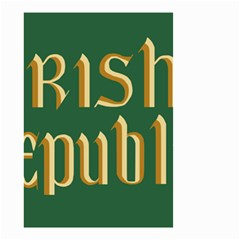 The Irish Republic Flag (1916, 1919 1922) Small Garden Flag (two Sides) by abbeyz71