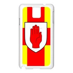 Flag of the Province of Ulster  Samsung Galaxy Note 3 N9005 Case (White)