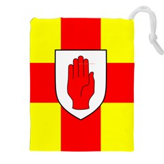 Flag Of The Province Of Ulster  Drawstring Pouches (xxl) by abbeyz71