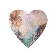 Cold Stone Abstract Heart Magnet by theunrulyartist