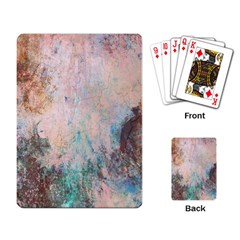 Cold Stone Abstract Playing Card by theunrulyartist