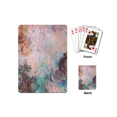 Cold Stone Abstract Playing Cards (mini)  by theunrulyartist
