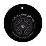 Twenty One Pilots Round Ornament (Two Sides)