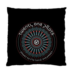 Twenty One Pilots Standard Cushion Case (two Sides) by Onesevenart