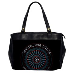 Twenty One Pilots Office Handbags by Onesevenart