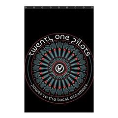 Twenty One Pilots Shower Curtain 48  X 72  (small)  by Onesevenart