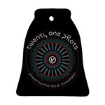 Twenty One Pilots Bell Ornament (Two Sides)