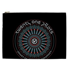 Twenty One Pilots Cosmetic Bag (xxl)  by Onesevenart