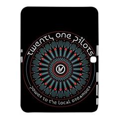 Twenty One Pilots Samsung Galaxy Tab 4 (10 1 ) Hardshell Case  by Onesevenart