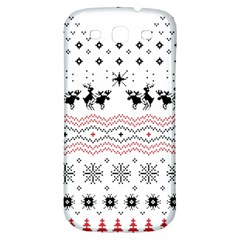 Ugly Christmas Humping Samsung Galaxy S3 S Iii Classic Hardshell Back Case by Onesevenart