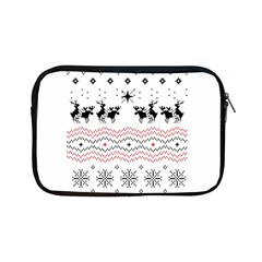 Ugly Christmas Humping Apple Ipad Mini Zipper Cases by Onesevenart