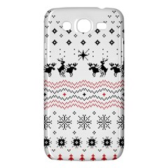 Ugly Christmas Humping Samsung Galaxy Mega 5 8 I9152 Hardshell Case  by Onesevenart