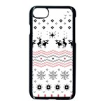 Ugly Christmas Humping Apple iPhone 7 Seamless Case (Black)
