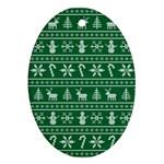 Ugly Christmas Ornament (Oval)