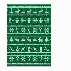 Ugly Christmas Large Garden Flag (two Sides) by Onesevenart
