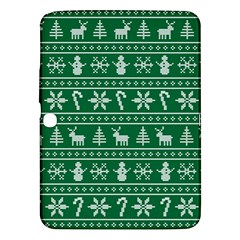 Ugly Christmas Samsung Galaxy Tab 3 (10 1 ) P5200 Hardshell Case  by Onesevenart