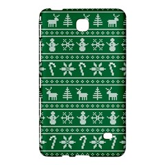 Ugly Christmas Samsung Galaxy Tab 4 (7 ) Hardshell Case  by Onesevenart
