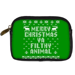 Ugly Christmas Sweater Digital Camera Cases by Onesevenart