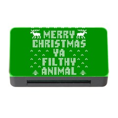 Ugly Christmas Sweater Memory Card Reader With Cf by Onesevenart