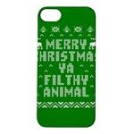 Ugly Christmas Sweater Apple iPhone 5S/ SE Hardshell Case