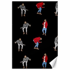 Drake Ugly Holiday Christmas Canvas 20  X 30   by Onesevenart