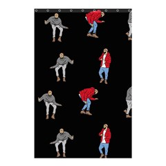 Drake Ugly Holiday Christmas Shower Curtain 48  X 72  (small)  by Onesevenart