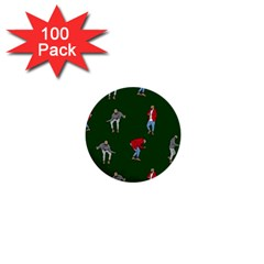 Drake Ugly Holiday Christmas 1  Mini Buttons (100 Pack)  by Onesevenart