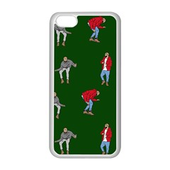 Drake Ugly Holiday Christmas Apple Iphone 5c Seamless Case (white) by Onesevenart