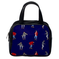 Drake Ugly Holiday Christmas Classic Handbags (one Side) by Onesevenart