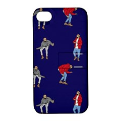 Drake Ugly Holiday Christmas Apple Iphone 4/4s Hardshell Case With Stand by Onesevenart
