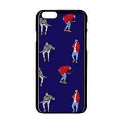 Drake Ugly Holiday Christmas Apple Iphone 6/6s Black Enamel Case by Onesevenart
