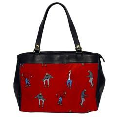 Drake Ugly Holiday Christmas Office Handbags by Onesevenart
