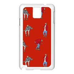 Drake Ugly Holiday Christmas Samsung Galaxy Note 3 N9005 Case (white) by Onesevenart