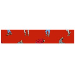 Drake Ugly Holiday Christmas Flano Scarf (large) by Onesevenart