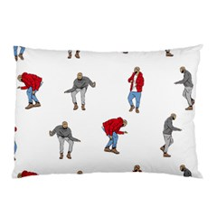 Drake Ugly Holiday Christmas Pillow Case (two Sides) by Onesevenart