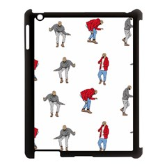Drake Ugly Holiday Christmas Apple Ipad 3/4 Case (black) by Onesevenart