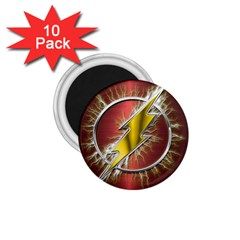 Flash Flashy Logo 1 75  Magnets (10 Pack)  by Onesevenart