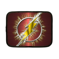 Flash Flashy Logo Netbook Case (small)  by Onesevenart
