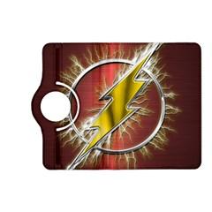 Flash Flashy Logo Kindle Fire Hd (2013) Flip 360 Case by Onesevenart