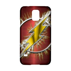 Flash Flashy Logo Samsung Galaxy S5 Hardshell Case  by Onesevenart