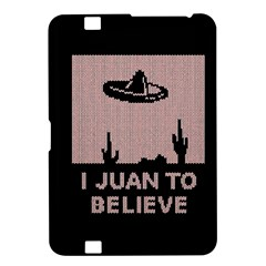 I Juan To Believe Ugly Holiday Christmas Black Background Kindle Fire Hd 8 9  by Onesevenart