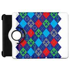 Minecraft Ugly Holiday Christmas Kindle Fire HD 7  by Onesevenart