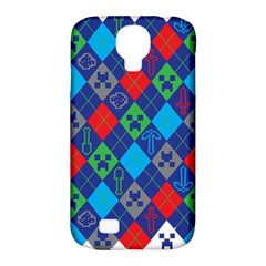 Minecraft Ugly Holiday Christmas Samsung Galaxy S4 Classic Hardshell Case (pc+silicone) by Onesevenart