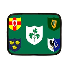 Ireland National Rugby Union Flag Netbook Case (small)  by abbeyz71