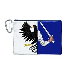 Flag Of Connacht Canvas Cosmetic Bag (m) by abbeyz71