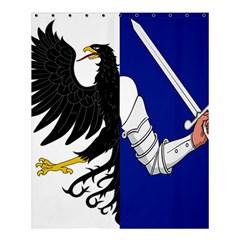 Flag Of Connacht Shower Curtain 60  X 72  (medium)  by abbeyz71