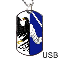 Flag Of Connacht Dog Tag Usb Flash (one Side) by abbeyz71