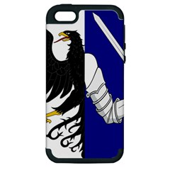 Flag Of Connacht Apple Iphone 5 Hardshell Case (pc+silicone) by abbeyz71