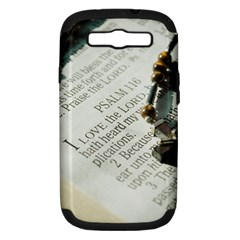 I Love The Lord Samsung Galaxy S Iii Hardshell Case (pc+silicone) by JellyMooseBear